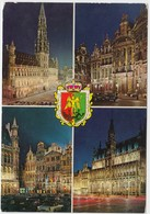 Souvenir From BRUSSELS, Unused Postcard [21265] - Brussels By Night