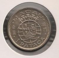 Moeda Macau/Portugal - Coin Macao 1 Pataca 1980 - BELA (Soberba) - Macao