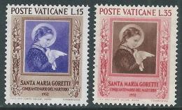 1953 VATICANO SANTA MARIA GORETTI MNH ** - ED11-10 - Vatikan