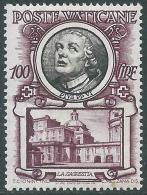 1953 VATICANO SERIE PAPI 100 LIRE MNH ** - ED10-2 - Vatican