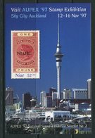 Niue 1997 Aupex '97 Stamp Exhibitionj, Auckland MS MNH (SG MS830) - Niue