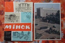 BELARUS. MINSK. Old PC. OLD USSR PC. 1950s - 12 Postcards Lot - Belarus