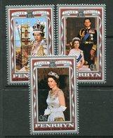 Penrhyn 1977 Silver Jubilee Set MNH (SG 100-02) - Penrhyn