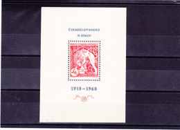 TCHECOSLOVAQUIE 1968 Yvert BF 36 NEUF** MNH - Tchécoslovaquie