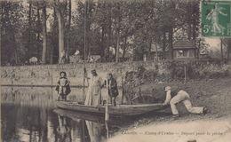 Chaville : Etang D'Ursine - Départ Pour La Pêche - Chaville
