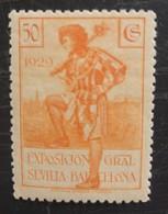 Exposition De Barcelone Et De Seville N° 376 - 1889-1931 Kingdom: Alphonse XIII