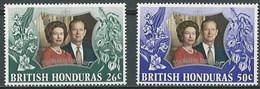 Honduras Britanica 296/297 ** MNH. 1972 - British Honduras (...-1970)