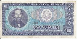 ROUMANIE 100 LEI 1966 VF P 97 - Roemenië