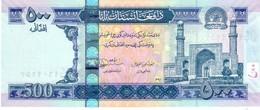 Afghanistan P.76c 500 Afghanis 2012 Unc - Afghanistan