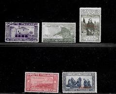 Colonie Italiane - Somalia 1926 San Francesco - Somalia