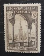 Exposition De Barcelone Et De Seville N° 374 - 1889-1931 Royaume: Alphonse XIII