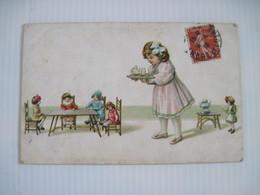 2 CPA  Salon De Poupées Et Miniatures 1918 T.B.E. + 1 B.E. Colorisées - Fantaisies