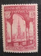 Exposition De Barcelone Et De Seville - 1889-1931 Kingdom: Alphonse XIII