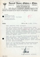 B4611 - Schleiz - Rudolf Ritter - Rechtsanwalt Notar - Germany