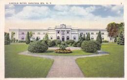Lincoln Baths, Saratoga Spa, Saratoga Springs, New York, USA Vintage Unused - Saratoga Springs