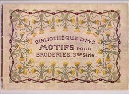 MOTIFS Pour BRODERIES 3 * BIBLIOTHEQUE DMC Ca1925 BRODERIE D.M.C. POINT DE CROIX CROSS STITCH KRUISSTEEK DENTELLE Z211 - Point De Croix