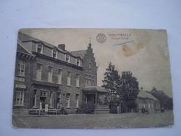 Westmalle (Malle) Grand Hotel (geanimeerd) Gelopen 19?? Kaart Vlekkig - Malle