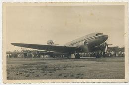 Real Photo 19 Cms By 12 Cms Aeropuerto Caibarien Cuba Cubana De Aviacion  Clipper January 15 1952 - 1946-....: Ere Moderne