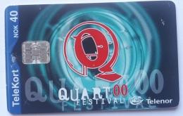 N 183 , Quart Music Festival 2000,, Norway Used - Norway