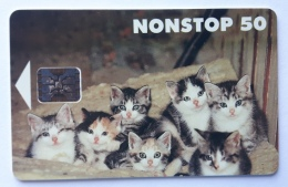 Cats  ,  Finland Used Card - Finland