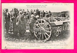 Cpa Carte Postale Ancienne  - Fêtes Franco-Russes De 1901 -  A WITRY LES REIMS - Militaria