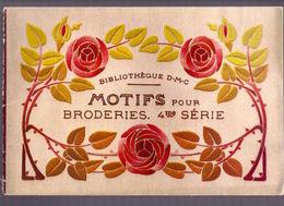 MOTIFS Pour BRODERIES 4me BIBLIOTHEQUE DMC Ca1935 BRODERIE D.M.C. POINT DE CROIX CROSS STITCH KRUISSTEEK DENTELLE Z214 - Point De Croix