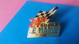 Pin's   24 Heures Du Mans    1993 - Rallye