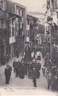 BE17-  IRUN   PROCESSION DE LA SEMANA SANTA   CPA  CIRCULEE - Espagne