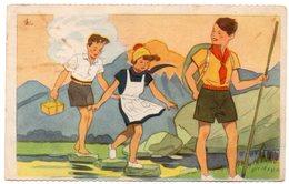 Scoutisme - Illustrateur Georges Lang - 1937 - Scoutisme