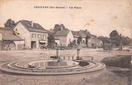 Crevans (70) - La Place 1917 - France