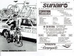 687 - CYCLISME - WIELRENNEN -  HERMAN VANDERSLAGMOLEN - FLANDRIA - Ciclismo