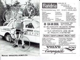 686 - CYCLISME - WIELRENNEN -  MARCEL VANDERSLAGMOLEN - FLANDRIA - Ciclismo