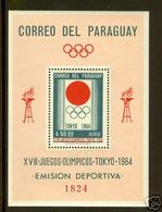 Olympics 1964 - History - PARAGUAY - S/S Perf. MNH - Summer 1964: Tokyo
