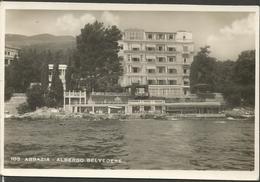OPATIJA ABBAZIA KVARNER HRVATSKA CROAZIA, PC, Circulated 1943 - Kroatien