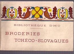 BRODERIES TCHECO-SLOVAQUES BIBLIOTHEQUE DMC Ca1930 BRODERIE D.M.C. POINT DE CROIX CROSS STITCH KRUISSTEEK DENTELLE Z218 - Cross Stitch
