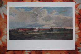 """BELARUS - Brest Litovsk , Poland, Russia - """"Fortress In 1846"""" - Old Soviet Postcard - Belarus"""