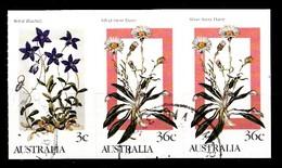 AUSTRALIE 1986  Mi.nr. 993-996-996  Bergblumen  Oblitérés / Used / Gestempeld - Used Stamps
