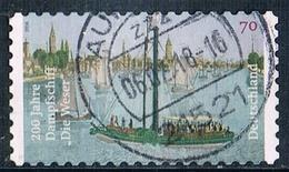 """2017 200 Jahre Dampfschiff """"Die Weser""""  (selbstklebend) - [7] Federal Republic"""