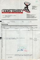 B4619 - Mühlbach Bez. Chemnitz - Karl Kaden - Spiralfedern Fabrik - Rechnung Quittung 1939 - Deutschland