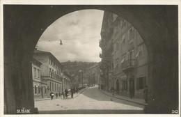 RIJEKA SUŠAK, HRVATSKA CROATIA, PC Circulated 1941 - Kroatien