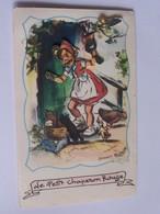 """Bouret Germaine """" Le Petit Chaperon Rouge """" M.d Paris Serie Animee No 375 Decoupies - Bouret, Germaine"""