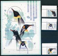 TAAF  FRENCH ANTARCTIC TERRITORY  2018  Manchot Royal, Manchot Papou, Gorfou Sauteur, Manchot Impérial  Birds Oiseaux - Franse Zuidelijke En Antarctische Gebieden (TAAF)