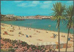 Porthminster Beach, St Ives, Cornwall, 1982 - Murray King Postcard - St.Ives