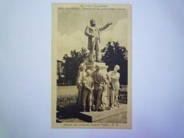 CARMAUX  (Tarn)  :  Monument Du Grand Tribun  JAURES   1938   XXX - Carmaux