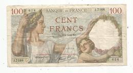 Billet , Cent Francs ,100 , 8-2-1940 , 2 Scans, Frais Fr 1.45 E - 1871-1952 Anciens Francs Circulés Au XXème
