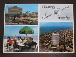ISRAEL TEL AVIV CITY SHALOM TOWER MUNICIPALITY PICTURE POSTCARD ORIGINAL PHOTO POST CARD PC STAMP - Postcards