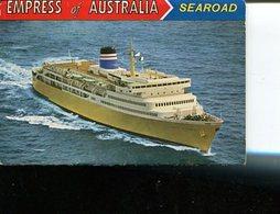 (Booklet 86) Australia (very Old) TAS - Empress Of Australia Ferry (searoad) - Australia