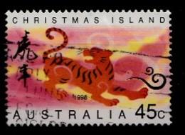 Christmas Island 1998 Mi.nr.:436 Jahr Des Tigers  Oblitérés / Used / Gestempeld - Christmas Island