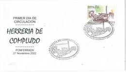 28910. Carta PONFERRADA (Leon) 2002. Herreria De COMPLUDO - 1931-Hoy: 2ª República - ... Juan Carlos I