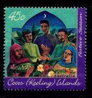COCOS-ISLANDS  Mi.nr.343 Hari-Raya-Fest 1996  OBLITÉRÉS / USED / GESTEMPELD - Cocos (Keeling) Islands